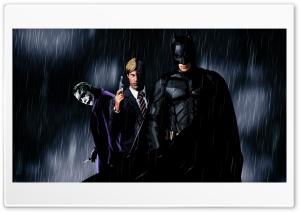 The Dark Knight - A Symbol of Hope HD Wide Wallpaper for Widescreen