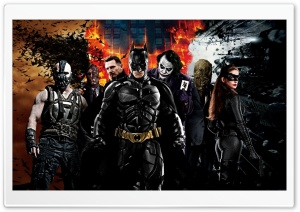 The Dark Knight Characters HD Wide Wallpaper for Widescreen