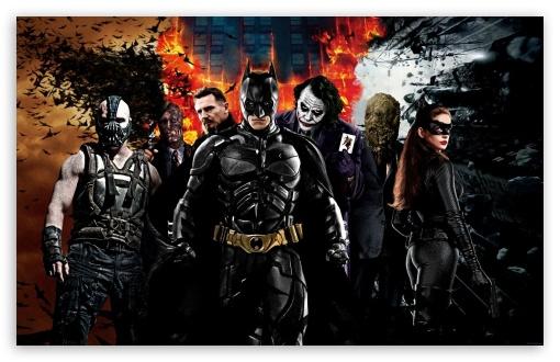 The Dark Knight Characters 4k Hd Desktop Wallpaper For 4k
