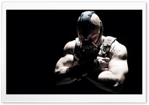 The Dark Knight Rises - Tom Hardy HD Wide Wallpaper for Widescreen