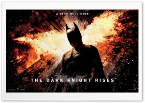 The Dark Knight Rises A Fire Will Rise HD Wide Wallpaper for Widescreen