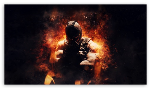 The Dark Knight Rises Bane HD wallpaper for HD 16:9 High Definition WQHD QWXGA 1080p 900p 720p QHD nHD ; Tablet 1:1 ; iPad 1/2/Mini ; Mobile 4:3 5:3 3:2 16:9 - UXGA XGA SVGA WGA DVGA HVGA HQVGA devices ( Apple PowerBook G4 iPhone 4 3G 3GS iPod Touch ) WQHD QWXGA 1080p 900p 720p QHD nHD ;