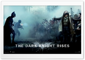 The Dark Knight Rises Bane Vs Batman HD Wide Wallpaper for Widescreen