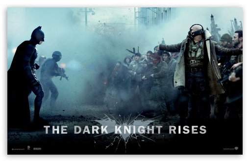 The Dark Knight Rises Bane Vs Batman HD wallpaper for Standard 4:3 5:4 ...