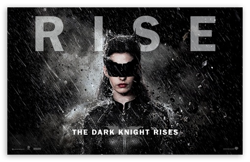 The Dark Knight Rises Catwoman 2012 HD wallpaper for Wide 16:10 5:3 Widescreen WHXGA WQXGA WUXGA WXGA WGA ; Standard 4:3 5:4 Fullscreen UXGA XGA SVGA QSXGA SXGA ; iPad 1/2/Mini ; Mobile 4:3 5:3 5:4 - UXGA XGA SVGA WGA QSXGA SXGA ;
