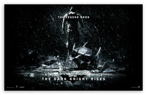 The Dark Knight Rises The Legend Ends HD wallpaper for Wide 16:10 Widescreen WHXGA WQXGA WUXGA WXGA ; Standard 4:3 5:4 Fullscreen UXGA XGA SVGA QSXGA SXGA ; iPad 1/2/Mini ; Mobile 4:3 5:4 - UXGA XGA SVGA QSXGA SXGA ;
