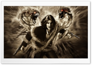 The Darkness II HD Wide Wallpaper for Widescreen