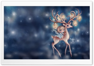 The Deer HD Wide Wallpaper for Widescreen