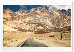 The Desert Route to California HD Wide Wallpaper for Widescreen
