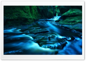 The Devils Pulpit Scotland HD Wide Wallpaper for 4K UHD Widescreen desktop & smartphone