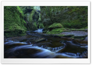 The Devils Pulpit, Scotland, United Kingdom HD Wide Wallpaper for Widescreen