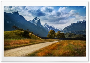 The Dirt Road to Paradise HD Wide Wallpaper for Widescreen