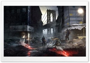 The Division Concept Art HD Wide Wallpaper for Widescreen