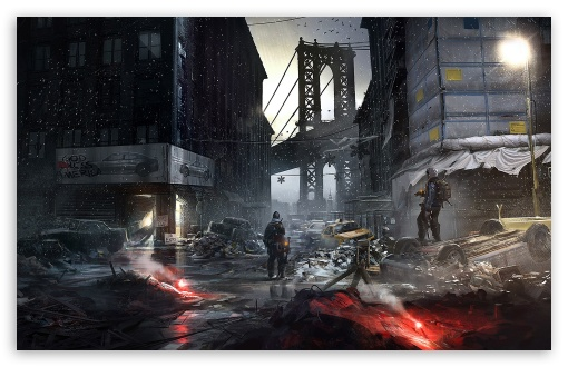 The Division Concept Art 4k Hd Desktop Wallpaper For 4k