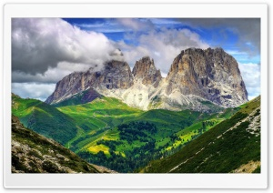 The Dolomites HD Wide Wallpaper for Widescreen