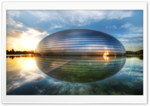 The Egg In Beijing HD Wide Wallpaper for 4K UHD Widescreen desktop & smartphone