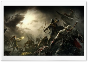 The Elder Scrolls Online Key Art HD Wide Wallpaper for Widescreen