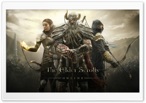 The Elder Scrolls Online PC HD Wide Wallpaper for Widescreen