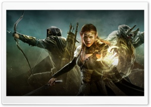 The Elder Scrolls Online Warriors HD Wide Wallpaper for Widescreen