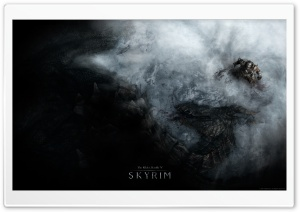 The Elder Scrolls V - Skyrim HD Wide Wallpaper for Widescreen