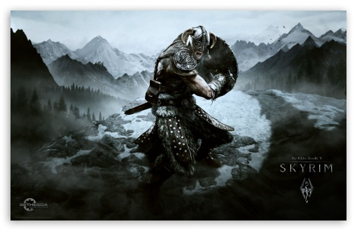 The Elder Scrolls V Skyrim HD wallpaper for Wide 16:10 5:3 Widescreen WHXGA WQXGA WUXGA WXGA WGA ; HD 16:9 High Definition WQHD QWXGA 1080p 900p 720p QHD nHD ; Other 3:2 DVGA HVGA HQVGA devices ( Apple PowerBook G4 iPhone 4 3G 3GS iPod Touch ) ; Mobile WVGA iPhone PSP - WVGA WQVGA Smartphone ( HTC Samsung Sony Ericsson LG Vertu MIO ) HVGA Smartphone ( Apple iPhone iPod BlackBerry HTC Samsung Nokia ) Sony PSP Zune HD Zen ;