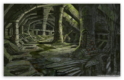 The Elder Scrolls V Skyrim   Nordic Barrow Interior Ruins HD wallpaper for Wide 16:10 5:3 Widescreen WHXGA WQXGA WUXGA WXGA WGA ; HD 16:9 High Definition WQHD QWXGA 1080p 900p 720p QHD nHD ; Standard 4:3 5:4 3:2 Fullscreen UXGA XGA SVGA QSXGA SXGA DVGA HVGA HQVGA devices ( Apple PowerBook G4 iPhone 4 3G 3GS iPod Touch ) ; Tablet 1:1 ; iPad 1/2/Mini ; Mobile 4:3 5:3 3:2 16:9 5:4 - UXGA XGA SVGA WGA DVGA HVGA HQVGA devices ( Apple PowerBook G4 iPhone 4 3G 3GS iPod Touch ) WQHD QWXGA 1080p 900p 720p QHD nHD QSXGA SXGA ;