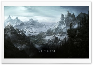 The Elder Scrolls V Skyrim (Video Game) HD Wide Wallpaper for Widescreen