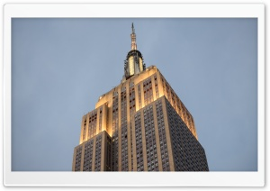 The Empire State Building HD Wide Wallpaper for 4K UHD Widescreen desktop & smartphone