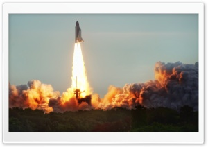 The Endeavor Launch HD Wide Wallpaper for Widescreen
