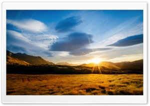 The Endless Fields of Queenstown HD Wide Wallpaper for Widescreen