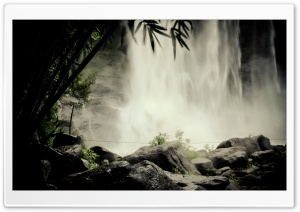 The Eternal Falls HD Wide Wallpaper for Widescreen