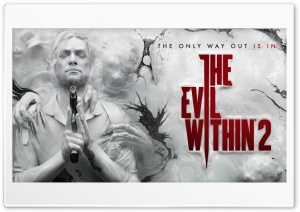 The Evil Within 2 video game 2017 HD Wide Wallpaper for Widescreen