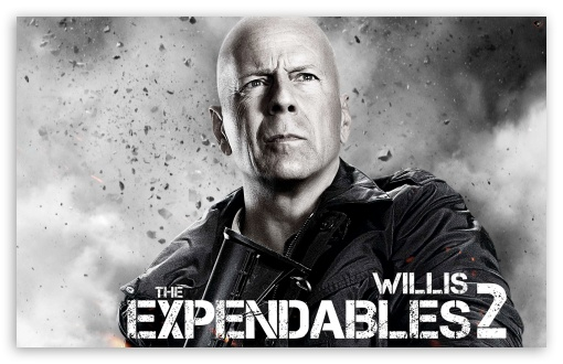 The Expendables 2 - Bruce Willis HD wallpaper for Wide 16:10 5:3 Widescreen WHXGA WQXGA WUXGA WXGA WGA ; HD 16:9 High Definition WQHD QWXGA 1080p 900p 720p QHD nHD ; Standard 4:3 5:4 3:2 Fullscreen UXGA XGA SVGA QSXGA SXGA DVGA HVGA HQVGA devices ( Apple PowerBook G4 iPhone 4 3G 3GS iPod Touch ) ; iPad 1/2/Mini ; Mobile 4:3 5:3 3:2 16:9 5:4 - UXGA XGA SVGA WGA DVGA HVGA HQVGA devices ( Apple PowerBook G4 iPhone 4 3G 3GS iPod Touch ) WQHD QWXGA 1080p 900p 720p QHD nHD QSXGA SXGA ;