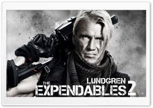 The Expendables 2 - Dolph Lundgren HD Wide Wallpaper for Widescreen