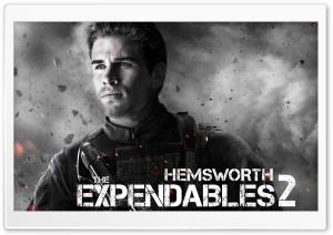 The Expendables 2 - Hemsworth HD Wide Wallpaper for Widescreen
