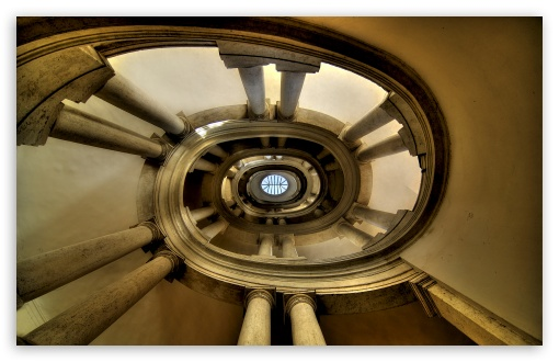 The Famous Helicoidal Staircase by Borromini HD wallpaper for Wide 16:10 5:3 Widescreen WHXGA WQXGA WUXGA WXGA WGA ; HD 16:9 High Definition WQHD QWXGA 1080p 900p 720p QHD nHD ; UHD 16:9 WQHD QWXGA 1080p 900p 720p QHD nHD ; Standard 4:3 5:4 3:2 Fullscreen UXGA XGA SVGA QSXGA SXGA DVGA HVGA HQVGA devices ( Apple PowerBook G4 iPhone 4 3G 3GS iPod Touch ) ; Tablet 1:1 ; iPad 1/2/Mini ; Mobile 4:3 5:3 3:2 16:9 5:4 - UXGA XGA SVGA WGA DVGA HVGA HQVGA devices ( Apple PowerBook G4 iPhone 4 3G 3GS iPod Touch ) WQHD QWXGA 1080p 900p 720p QHD nHD QSXGA SXGA ; Dual 16:10 5:3 16:9 4:3 5:4 WHXGA WQXGA WUXGA WXGA WGA WQHD QWXGA 1080p 900p 720p QHD nHD UXGA XGA SVGA QSXGA SXGA ;