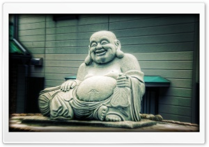 The Fat Buddha, Budai HD Wide Wallpaper for 4K UHD Widescreen desktop & smartphone