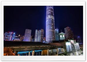The Ferry Port of Hong Kong HD Wide Wallpaper for 4K UHD Widescreen desktop & smartphone