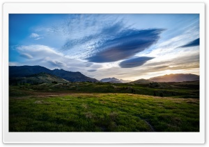 The Fields of the Queenstown Valley HD Wide Wallpaper for Widescreen