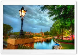 The French Quarter Of Disney HD Wide Wallpaper for Widescreen