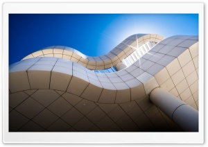 The Getty Museum Architecture Ultra HD Wallpaper for 4K UHD Widescreen desktop, tablet & smartphone