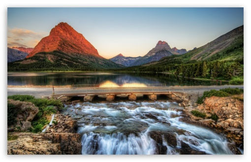 The Glacier National Park At Sunrise HD wallpaper for Wide 16:10 5:3 Widescreen WHXGA WQXGA WUXGA WXGA WGA ; HD 16:9 High Definition WQHD QWXGA 1080p 900p 720p QHD nHD ; UHD 16:9 WQHD QWXGA 1080p 900p 720p QHD nHD ; Standard 4:3 5:4 3:2 Fullscreen UXGA XGA SVGA QSXGA SXGA DVGA HVGA HQVGA devices ( Apple PowerBook G4 iPhone 4 3G 3GS iPod Touch ) ; Tablet 1:1 ; iPad 1/2/Mini ; Mobile 4:3 5:3 3:2 16:9 5:4 - UXGA XGA SVGA WGA DVGA HVGA HQVGA devices ( Apple PowerBook G4 iPhone 4 3G 3GS iPod Touch ) WQHD QWXGA 1080p 900p 720p QHD nHD QSXGA SXGA ; Dual 16:10 5:3 16:9 5:4 WHXGA WQXGA WUXGA WXGA WGA WQHD QWXGA 1080p 900p 720p QHD nHD QSXGA SXGA ;