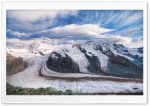 The Glaciers Of The Alps HD Wide Wallpaper for Widescreen
