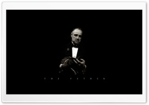 The Godfather by Faraz Zarifiyan HD Wide Wallpaper for Widescreen