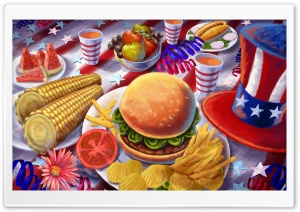 The Great American Hamburger HD Wide Wallpaper for 4K UHD Widescreen desktop & smartphone