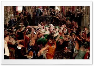 The Great Gatsby Party HD Wide Wallpaper for Widescreen