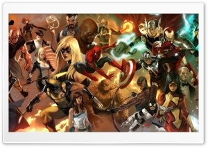 The Heroic Age   Avengers HD Wide Wallpaper for Widescreen