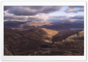 The Highlands of Scotland HD Wide Wallpaper for Widescreen