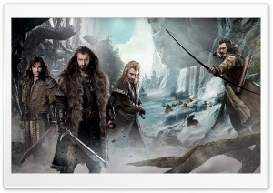 The Hobbit An Unexpected Journey 2 Dwarves HD Wide Wallpaper for Widescreen