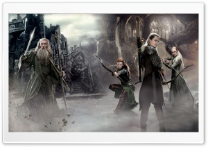 The Hobbit An Unexpected Journey 2 Elves HD Wide Wallpaper for Widescreen